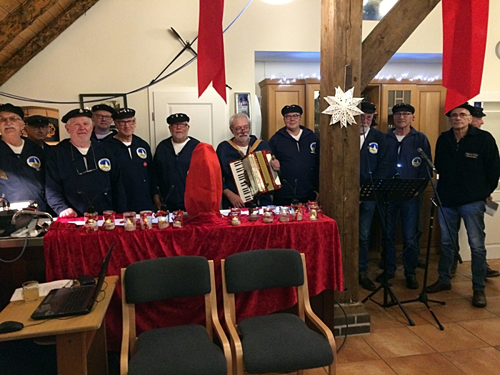 Adventssingen Shanty Crew 061218